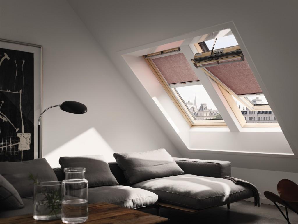 Pflege und Wartung von Dachfenster