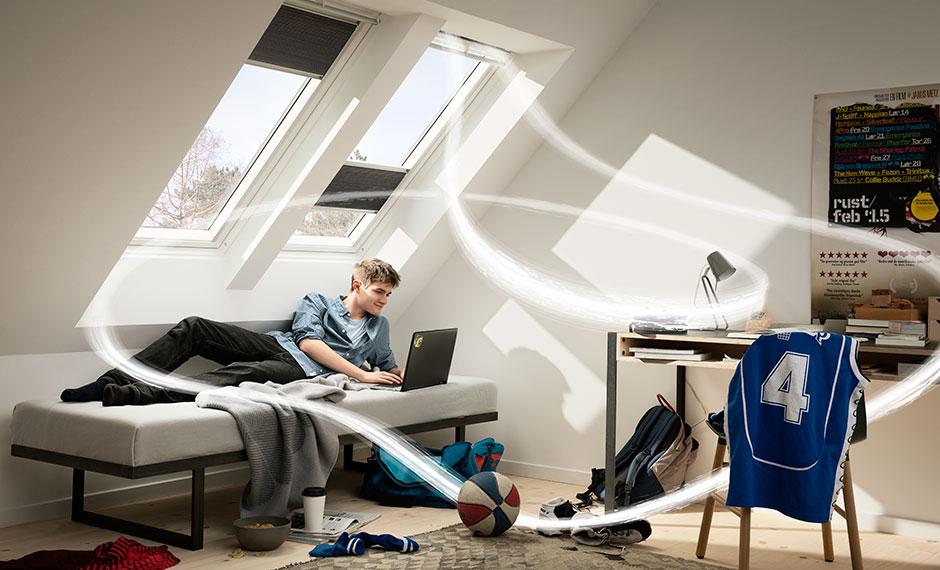 Wohngesundheit – Lüften auch bei geschlossenem Fenster