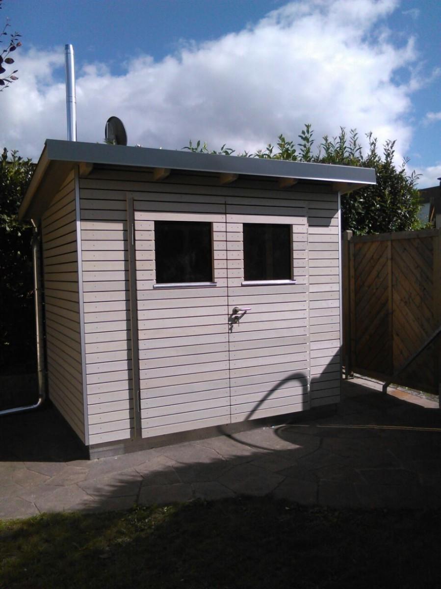 Platzvorteil mit einem praktischen und soliden Gerätehaus im Garten